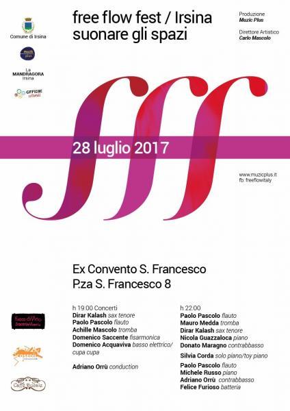Free Flow Fest 2017 - Suonare gli Spazi