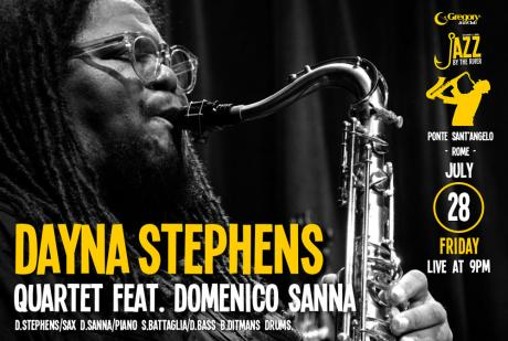 Dayna Stephens a Jazz by the River (Ponte Sant'Angelo - Roma)