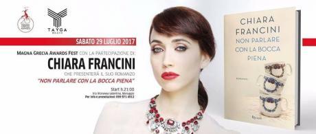 """Presentazione del libro di Chiara Francini """"Non parlare con la bocca piena"""""""