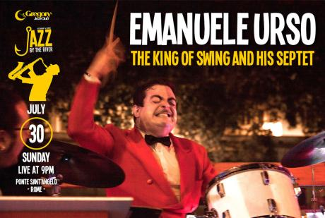 "Emanuele Urso ""The King of Swing"" a Jazz by the River"