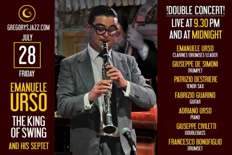 "Emanuele Urso ""The King of Swing"" - doppio live!"