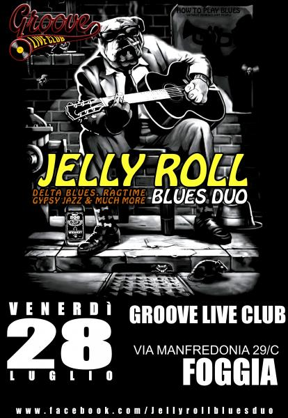 Jelly Roll Blues Duo live