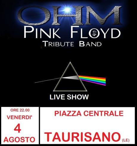 Ohm Pink Floyd - live Show - Taurisano
