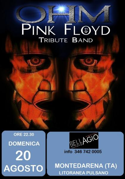 Ohm Pink Floyd - live Show - Litoranea Montedarena - Bellagio
