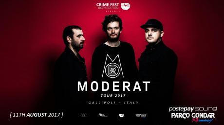 Moderat live al Postepay Sound Parco Gondar per il Crime Fest