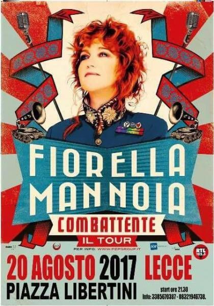 "Fiorella Mannoia in ""Combattente tour"""
