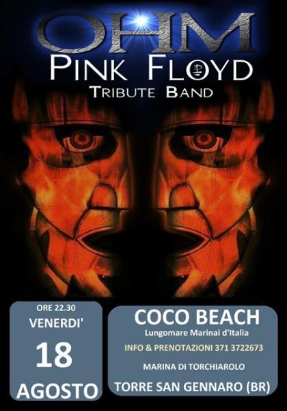 Ohm Pink Floyd live - Torre San Gennaro - Coco Beach