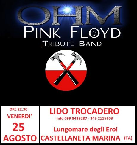 Ohm Pink Floyd - Castellaneta Marina (ta) - Lido Trocadero