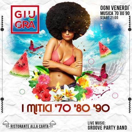 I mitici 70, 80 e 90 sotto le stelle della Valle d'Itria - Groove Party Band