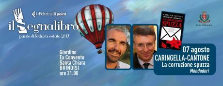 """Raffaele Cantone e Francesco Caringella presentano """"La corruzione spuzza"""" - Mondadori"""