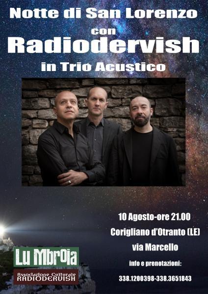 San Lorenzo con Radiodervish – in trio acustico