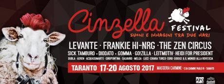 Cinzella Festival - Suoni e Immagini tra Due Mari