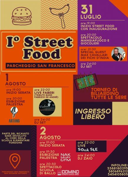 """SONA SLE live @ """"Street Food San Giovanni Rotondo - Prima Edizione"""""""