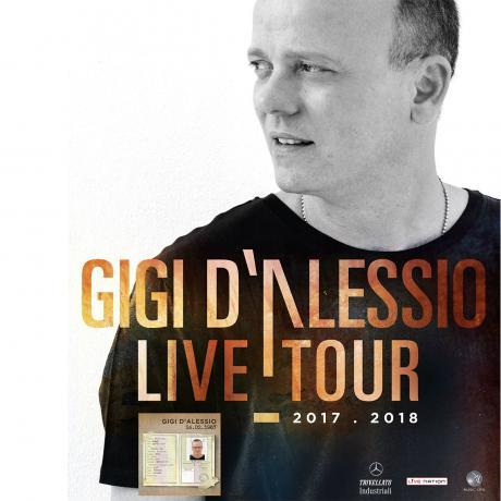 Gigi D'Alessio in concerto alle Grotte di Castellana