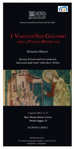 I  Viaggi di San Giacomo nella Puglia Medievale