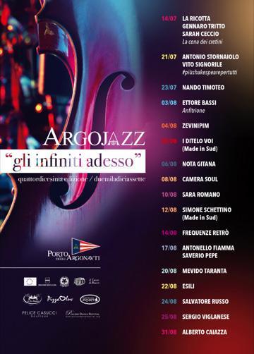 Sarà Romano in concerto per Argojazz 2017