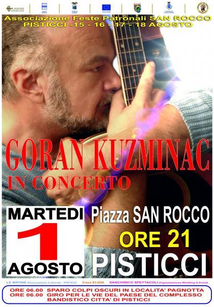 Goran KUZMINAC in Concerto