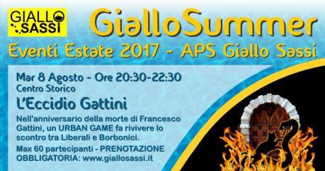 Detective tra i Sassi - L'Eccidio Gattini