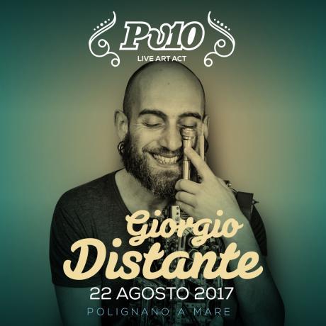 Giorgio Distante live @Pv10