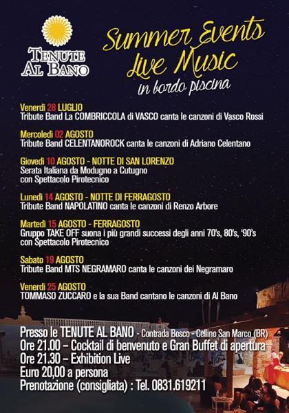Tommaso Zuccaro e la sua band canta le canzoni di Al Bano