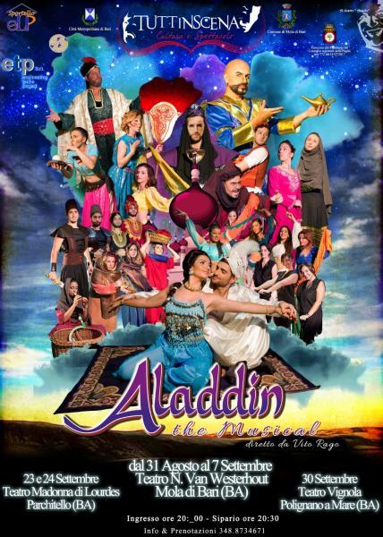 """""""Aladdin the musical"""" diretto da Vito Rago"""