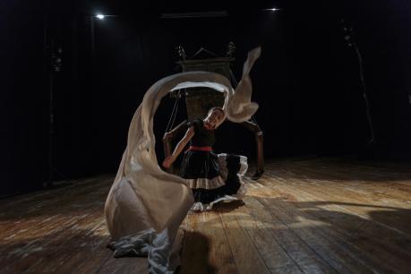 Vassilissa e la babbaracca: Kuziba Teatro TeatridiTerra2017