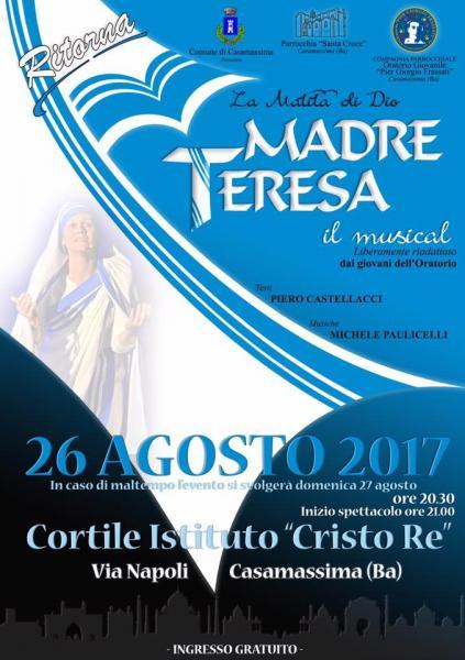 """""""Madre Teresa il musical"""" - La Matita di Dio"""