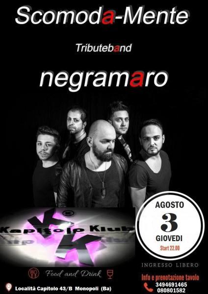 Scomodamente Negramaro Tribute Band Live