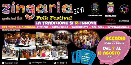 ZINGARIA FOLK FESTIVAL: la tradizione si r-innova