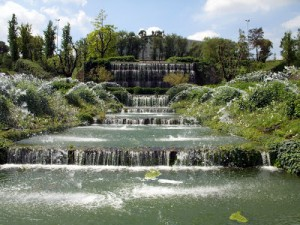 """Il """"Giardino delle cascate"""" al quartiere Eur – NUOVA APERTURA"""