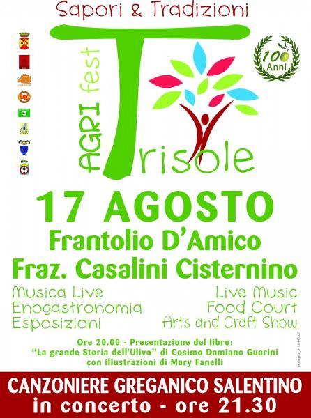"""Agri Fest Trisole: """"Il Frantolio""""  di Pietro D'Amico festeggia 100 anni di attività"""
