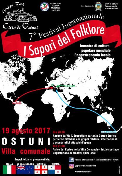 """Festival Internazionale """"I Sapori del Folklore"""" - incontro di cultura popolare mondiale ed enogastronomia locale"""