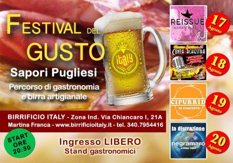 Festival del Gusto Birrificio Italy