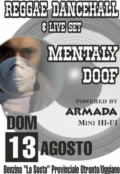 Reggae Dancehall&Live Set Mentaly Doof powered Armada Mini Hi-fi