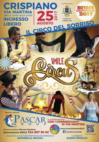 Smile Circus a Crispiano