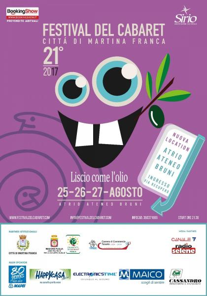 XXI Festival del Cabaret Città di Martina Franca