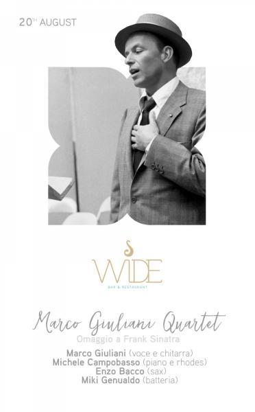 Marco Giuliani Quartet Omaggio a Frank Sinatra