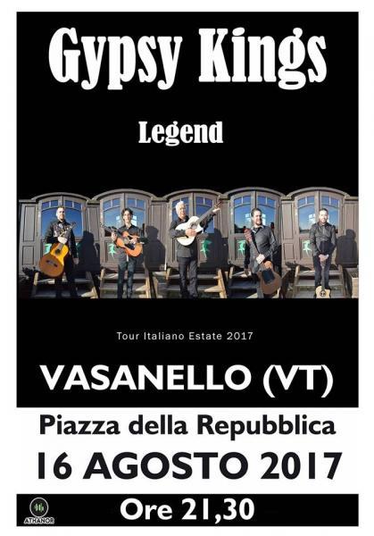 Festeggiamenti S.Rocco: Gipsy King e Orchestraccia