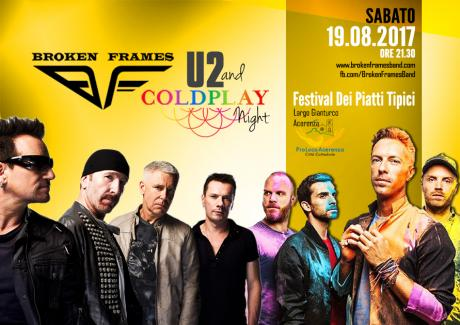 U2 & COLDPLAY Night by Broken Frames