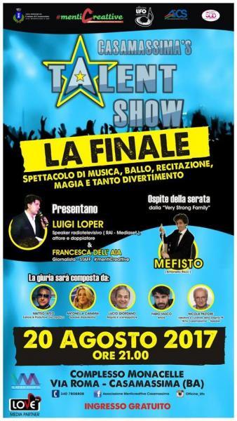 Casamassima's Talent Show: la Finale