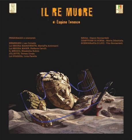 """18a Rassegna Nazionale """"Giovinazzo Teatro""""  IL RE MUORE"""