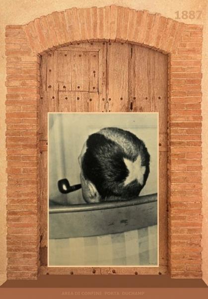 MARCEL  DUCHAMP  / 1887 – Area di Confine  Porta Duchamp