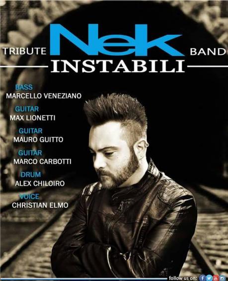 """Tribute Band di NEK """" gli """"INSTABILI"""""""