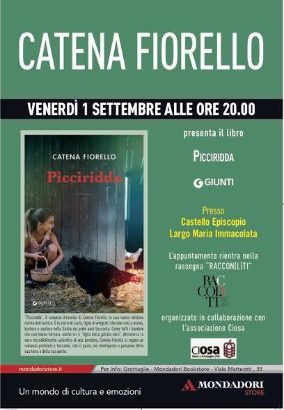Incontro con l'autore Catena Fiorello