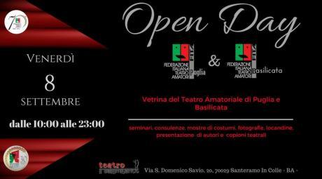 OPEN DAY FITA Puglia e Basilicata - Il Mondo del Teatro Amatoriale in vetrina