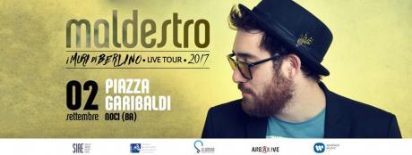 Maldestro in concerto - I muri di Berlino live Tour NOCI (Bari)