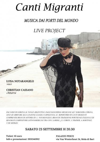 Canti Migranti - Luisa Notarangelo e Christian Cassano