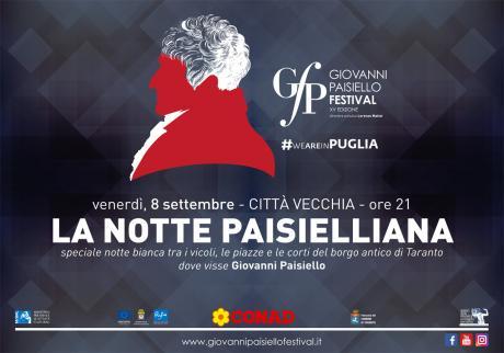 Giovanni Paisiello Festival - XV Edizione | Il programma completo