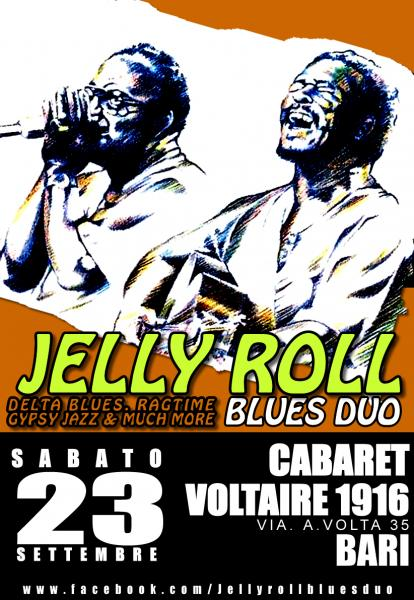 Jelly Roll Blues Duo live at Cabaret Voltaire