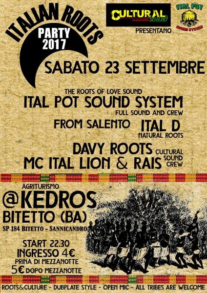 Italian Roots Party 2017
